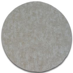 TAPIS cercle POZZOLANA beige
