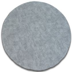 Carpet, round POZZOLANA silver