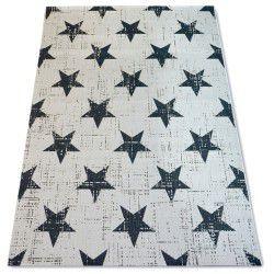 Koberec FLAT 48648/927 SISAL - hvězdy