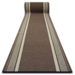 Vastag csúszásgátló futó szőnyeg TRENDY barna