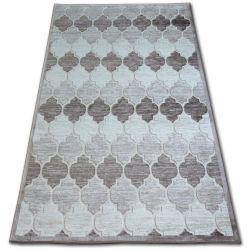 Carpet ACRYLIC YAZZ 3766 D.Beige/Brown Trellis